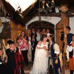 Hochzeit germanisches Langhaus
